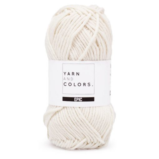 Yarns and Colors Epic Cream