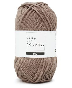 Yarns and colors epic clay