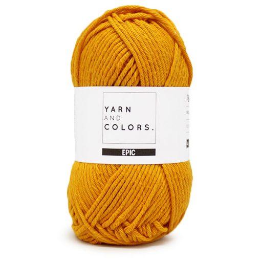 yarns and colors mustard