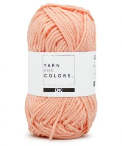 yarns and colors peach