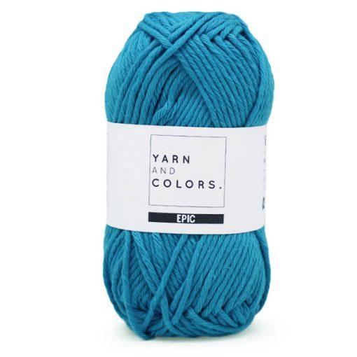 yarns and colors blue lake