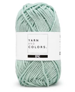 yarns and colors epic jade gravel