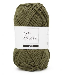 yarns and colors epic olive