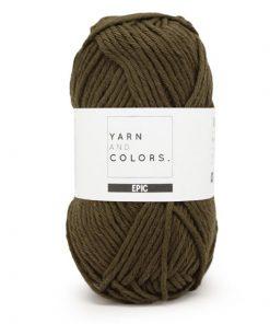 yarns and colors epic khaki