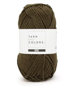 yarns and colors epic khaki