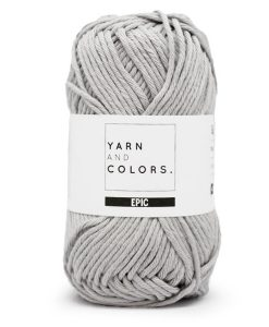 yarns and colors epic soft grey