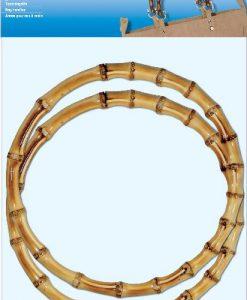 022.615111 GB bamboe handvat rond