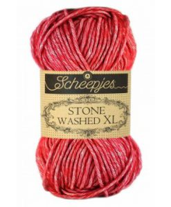 stone washed xl red jasper 847