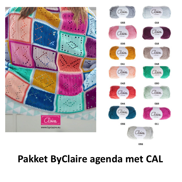 Uitverkocht Byclaire Cal Pakket Inclusief Byclaire Agenda 2018