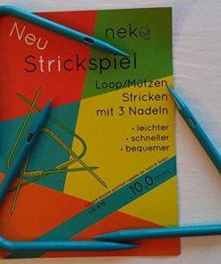 Neko Strickspiel loops rondbreinaalden voor mutsen en loops 10 mm