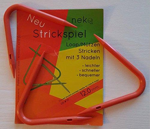 Neko Strickspiel loops rondbreinaalden voor mutsen en loops 12 mm