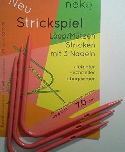 Neko Strickspiel loops rondbreinaalden voor mutsen en loops 7 mm
