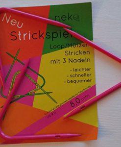 Neko Strickspiel loops rondbreinaalden voor mutsen en loops 8 mm