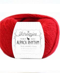 scheepjes alpaca rhythm 664 flamenco