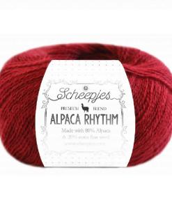 scheepjes alpaca rhythm 663 tango
