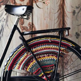 Wheel Guard kit Artist Bicycle Dress - rembrandt