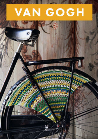 Wheel Guard kit Artist Bicycle Dress - van gogh