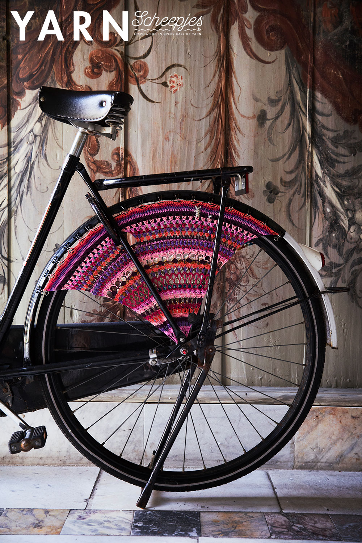 Wheel Guard kit Artist Bicycle Dress - Mondriaan