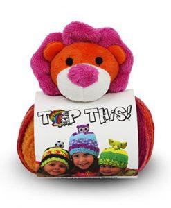DMC Top This Kindermuts met leeuw