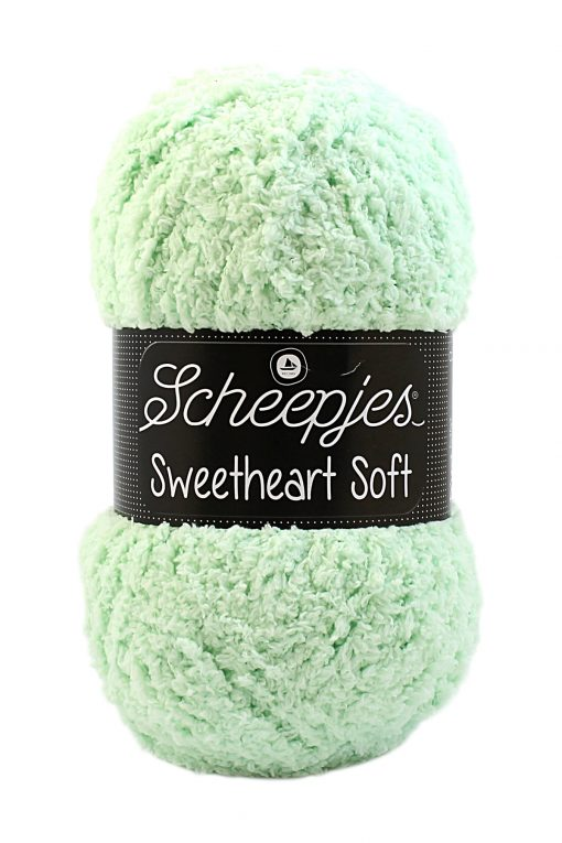 Scheepjes Sweetheart Soft Mintgroen 17