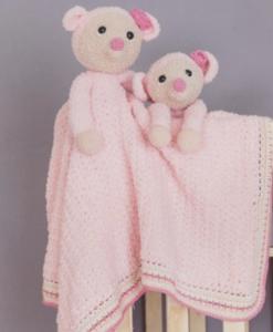 Garenpakket Woolytoons Knuffeldeken Mila de muis met gratis vulling!