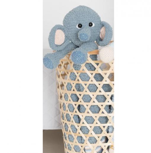 Garenpakket Woolytoons Knuffeldeken Owen de olifant met gratis vulling!