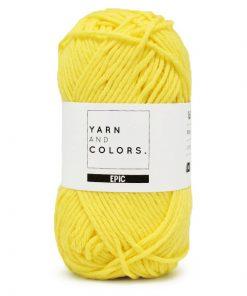 yarns and colors epic lemon
