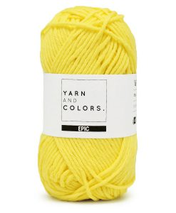 yarns and colors epic lemon