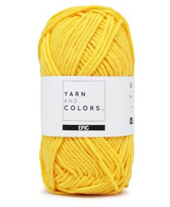 yarns and colors epic sunglow