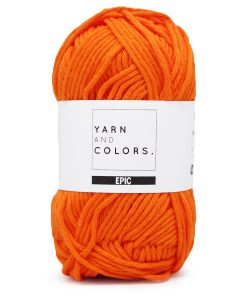 yarns and colors epic orange