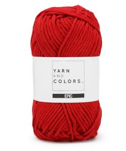 yarns and colors epic cardinal