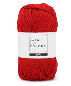 yarns and colors epic cardinal