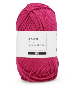 yarns and colors epic fuchsia