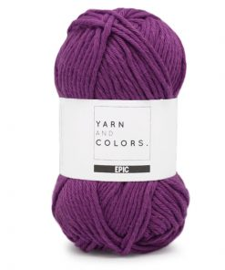 yarns and colors epic lilac