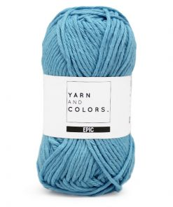 yarns and colors epic nordic blue