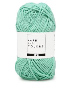 yarns and colors epic green ice