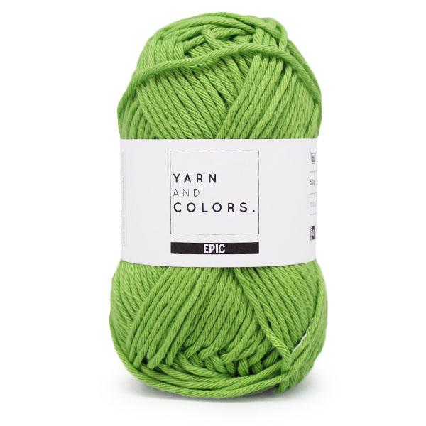 yarns and colors epic peridot