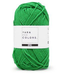 Yarns and Colors Epic peony leaf