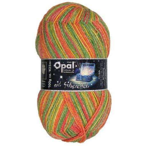 Sokkenwol Opal Lucky Silbereffekt 9480