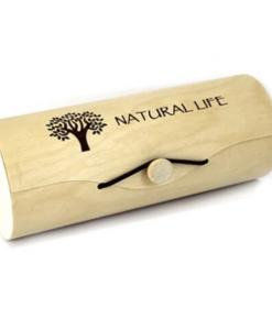 Natural life haaknaaldenkoker rond